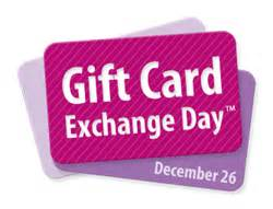 Where Can I Sell My Unwanted Gift Cards - gift card exchange day websites help people sell their unwanted christmas gift cards