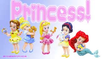 Baby princess disney popular cartoon
