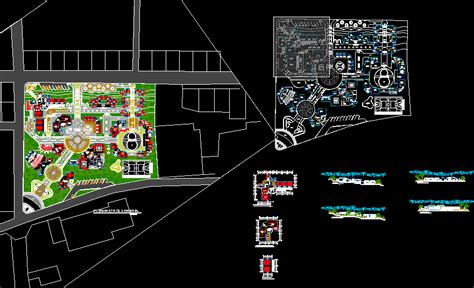 resort dwg full project  autocad designs cad