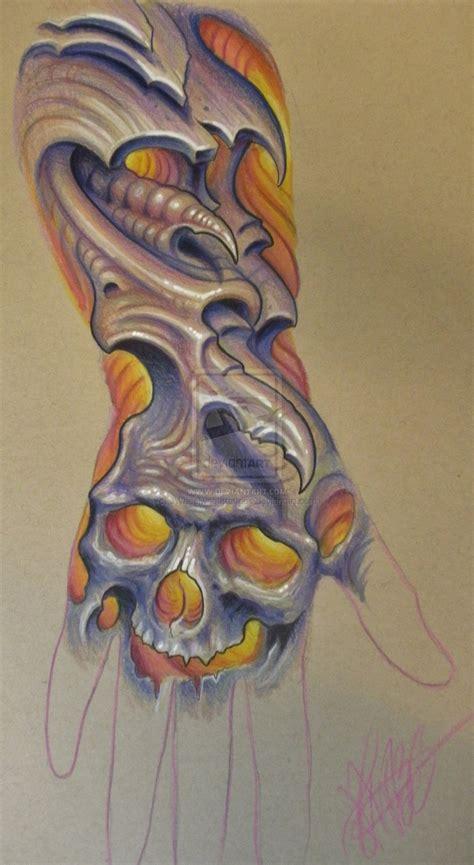 organic tattoo designs bio organic skull designs 7jpg models picture