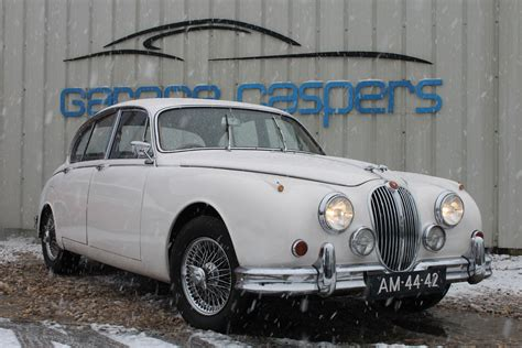 garage occasion 44 occasion jaguar ii 3 4 sedan benzine 1963 wit