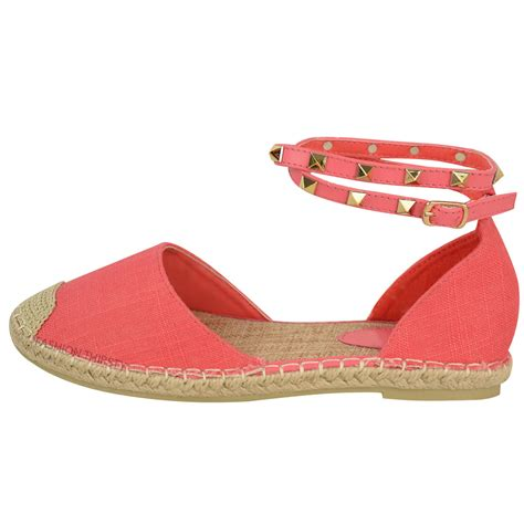 summer flats shoes womens ankle strappy flat sandals summer