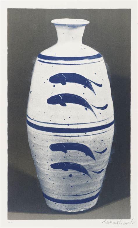 fish vase bernard leach tate