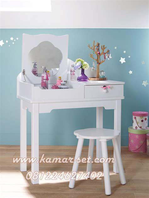 meja rias anak putih kamar set kamar set