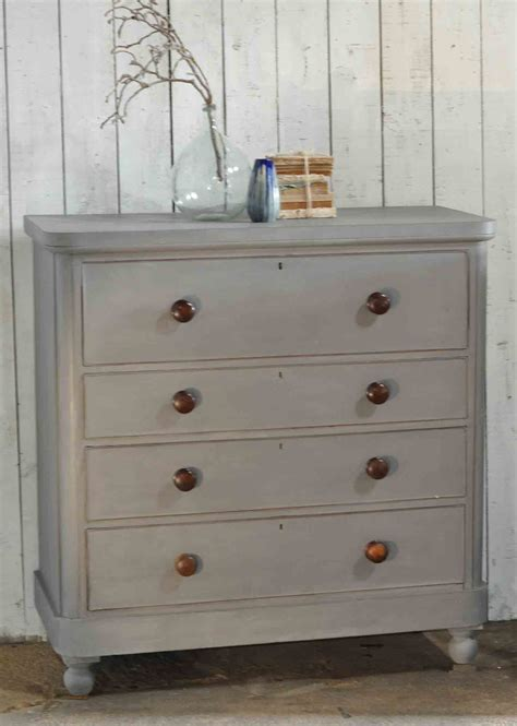 Antique Painted Chest Of Drawers by Large Antique Painted Chest Of Drawers Linen Press