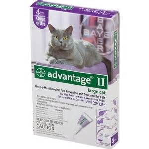 advantage ii large advantage ii for large cats 9 lbs chastant brothers inc