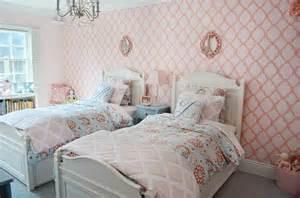 Shared Bedroom Ideas For Girls Stencil Ideas For A Shared Bedroom 171 Stencil Stories