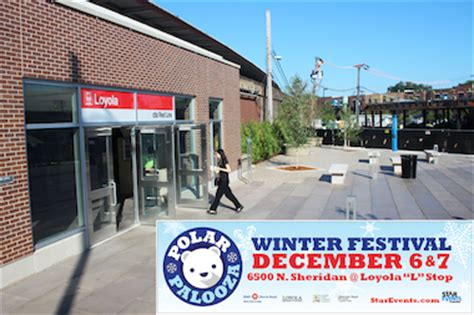 Rogers Park Food Pantry by Synthetic Rink Coming To Loyola Station Plaza For