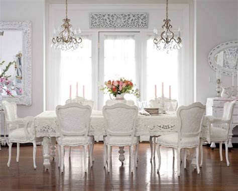 White Dining Room by 20 Dining Room Chandeliers