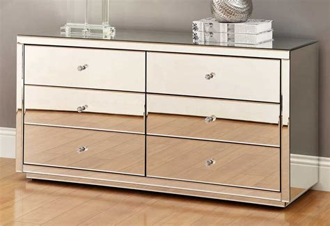 Mirror Dresser Furniture by Vegas Mirrored Bedside Tables Dresser Tallboy Package