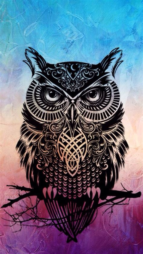 Tattoo Owl Wallpaper | 25 best ideas about owl wallpaper on pinterest cool