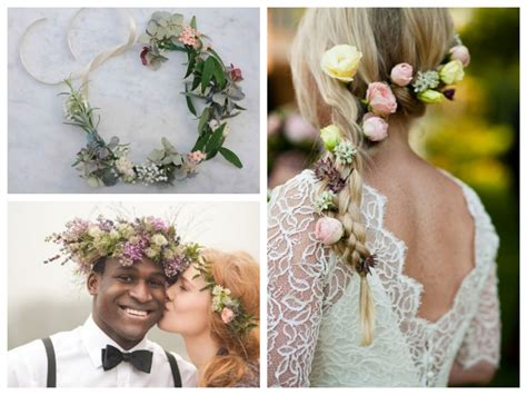Wedding Hair With Flower Crown by Wedding Trends Flower Crowns Wedding Flowers Mallorca
