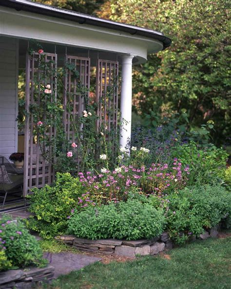 backyard privacy screens trellis 60 great ideas for the garden martha stewart