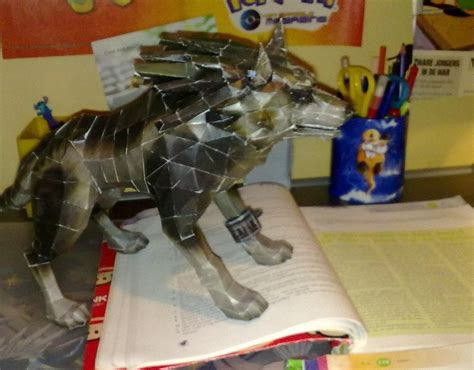 Wolf Link Papercraft - wolf link papercraft picture 3 by marlous2604 on deviantart