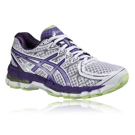 asics womens running shoes uk asics gel kayano 20 s running shoes womens white