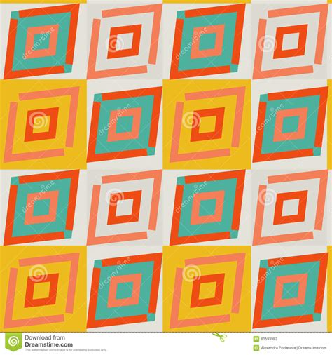ethno pattern white yellow and white diagonal african geometric stock vector