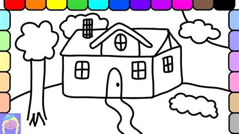 coloring books for adults seeking playtime learn how to draw and color a house coloring pages