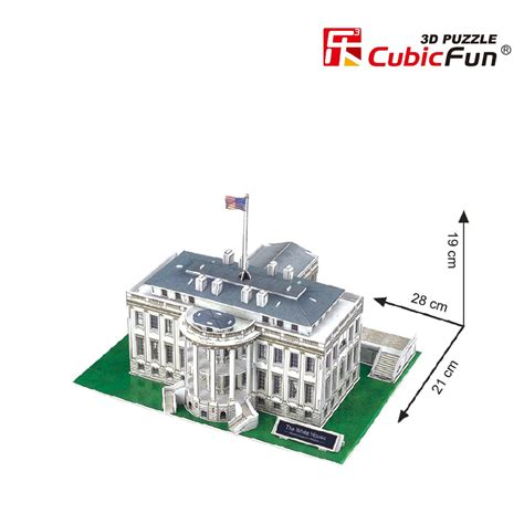 3d Puzzle House Cubic 3d puzzle washington the white house cubic c060h 65