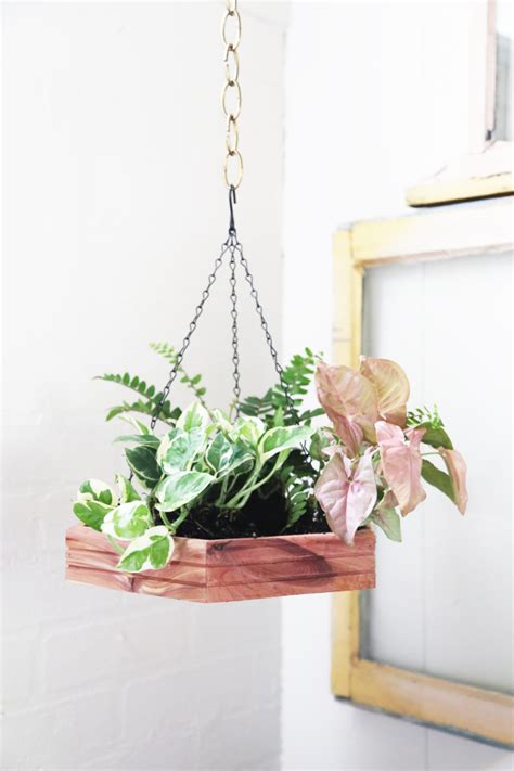 how to make hanging planters diy hexagon hanging planter the jungalowthe jungalow