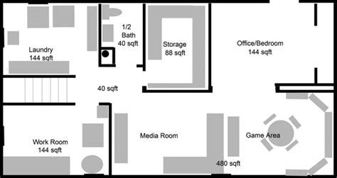 basement house floor plans inspirational simple house plans with basement home