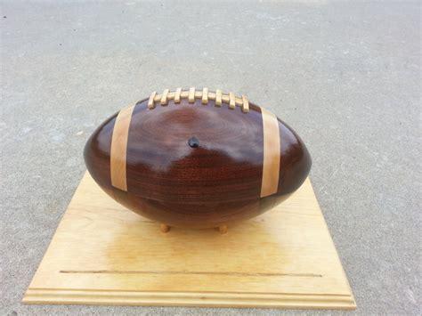 Wooden Football By Matt1475 Lumberjocks
