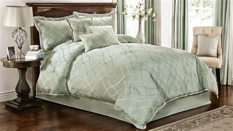 seafoam green comforter set comforter set 7 piece geometric design modern trends at