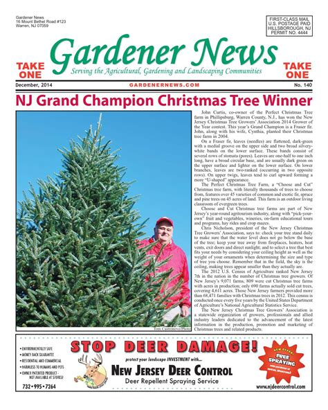 issuu gardener news december 2014 by gardener news