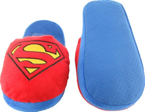 superman slippers superman classic logo slippers