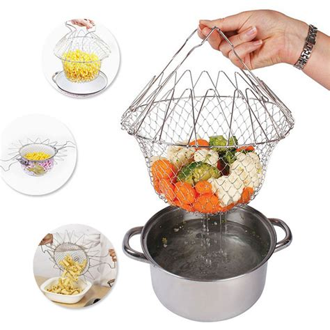 Chef Basket Kitchen Tools chef basket 12 in 1 kitchen tool for cook fry