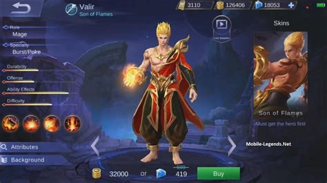 mobile legends new 2018 new valir s skills 2019 mobile legends