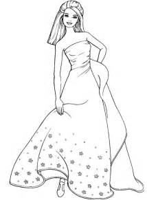 wedding dress coloring pages coloring