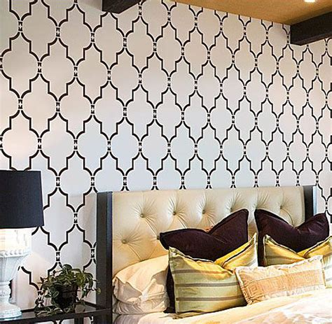 moroccan stencils trendy wall stencils moroccan stencil
