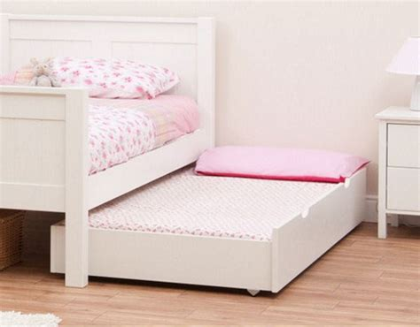 White Trundle Bed by Classic Trundle Bed White