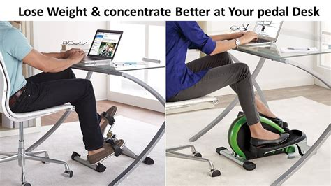 work out at your desk equipment lose weight concentrate better at your desk cycle