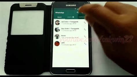 whatsapp on samsung tablet whatsapp how to make a call with whatsapp in samsung galaxy s5