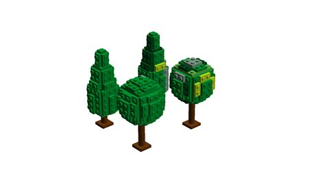 how to make a lego tree lego ideas lego town trees