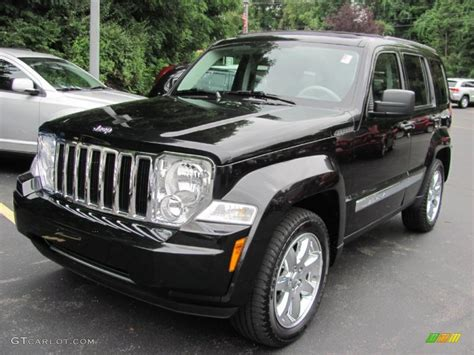 2008 Jeep Liberty Limited 4x4 2008 Brilliant Black Pearl Jeep Liberty Limited