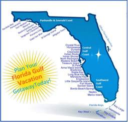 map gulf coast florida florida gulf vacation vacation rental map