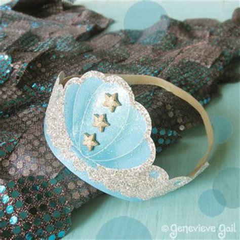 free printable mermaid crown mermaid crown template penelope s mermaid party pinterest