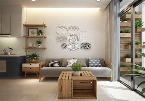 small modern apartment design  asian  scandinavian