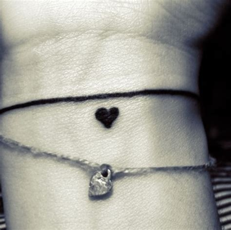 heartbeat tattoo bracelet bracelet tattoo four leaf clover instead of heart