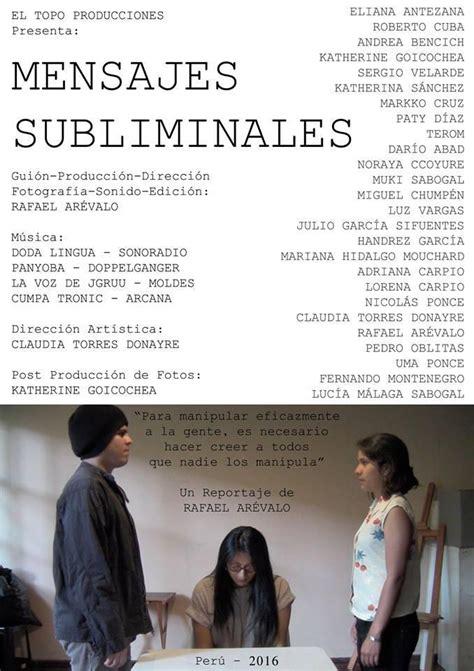 mensajes subliminales que son mensajes subliminales 2016 filmaffinity