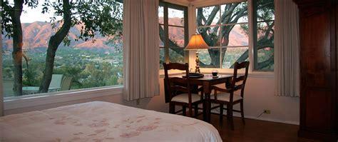 bed and breakfast ojai ojai bed and breakfast inn ojai retreat ojai valley lodging