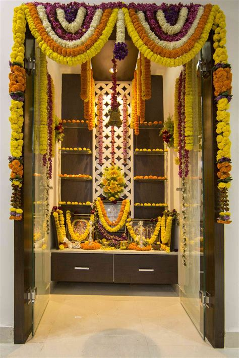 decoration of pooja room at home 17 best images about india s best pooja mandir on