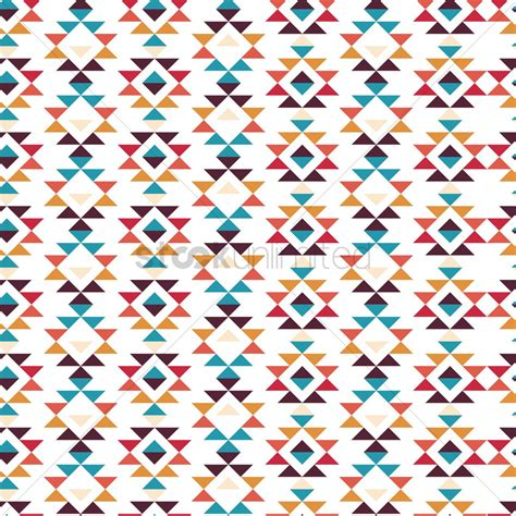 pattern tribal vector seamless tribal pattern vector image 1621373