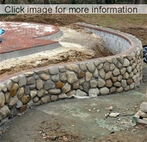 Garden Stone Wall Ideas   Stone Block Walls Design
