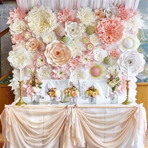 imagenes de flores gigantes decoraci 243 n con flores gigantes de papel