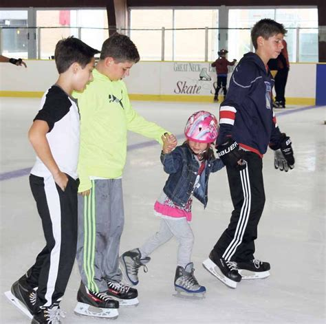 great neck open house ice rink open house wows with special performances great neck record