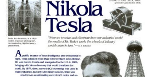 Tesla Nikola Free Energy Nicola Tesla Free Energy Nikola Tesla Energy Generator