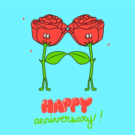 Happy Wedding Anniversary Animated Gif by Happy Anniversary Gif By Giphy Studios Originals Find